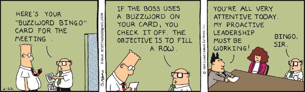 dilbert buzzword